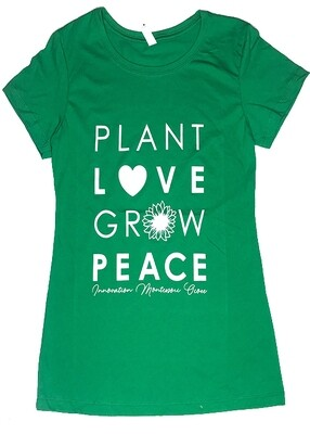 Green/White PLGP Fitted T-Shirt