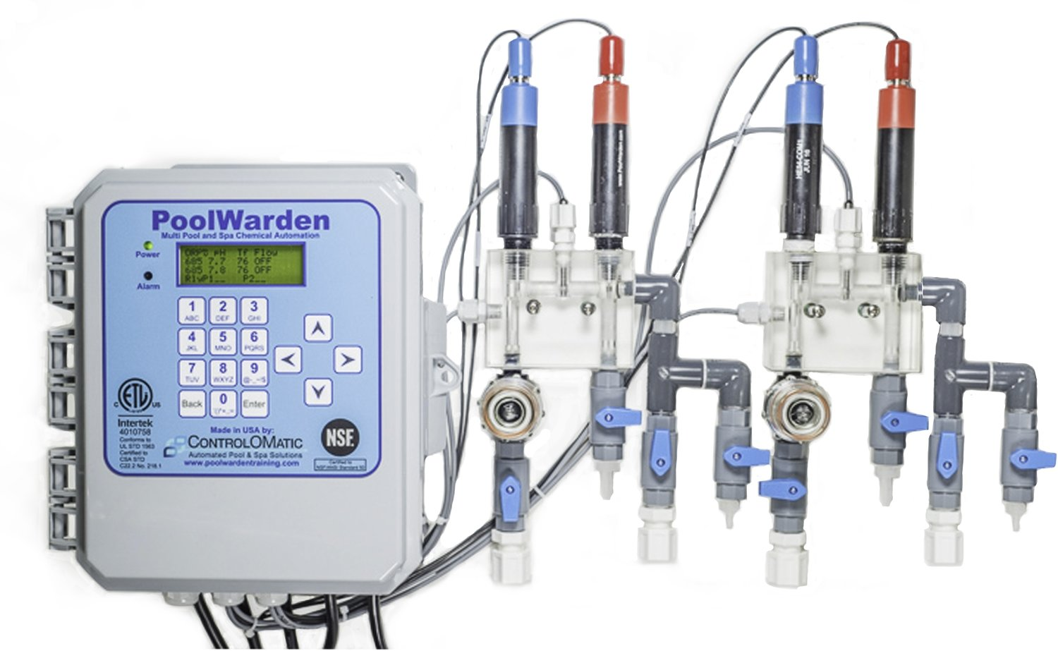 PoolWarden Pool Chemical Control System