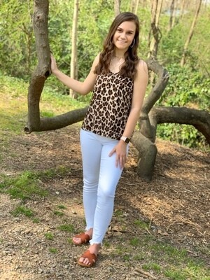 Camisole Leopard Print