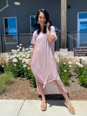 Jojo Midi Dress Blush