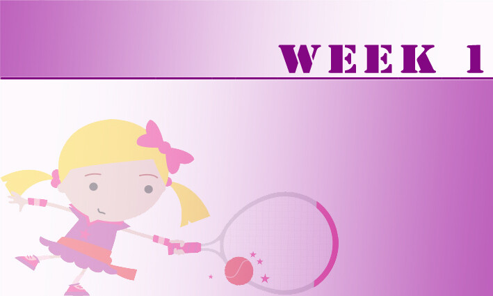 Tots (AGES 3+4) Easter Camps Week 1: 30th March - 3rd April