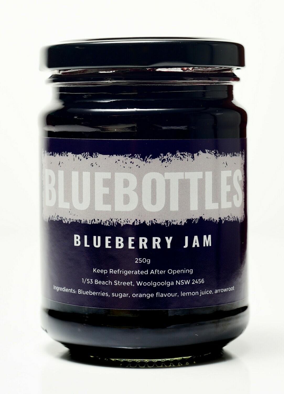 Bluebottles House-made Blueberry Jam 250g
