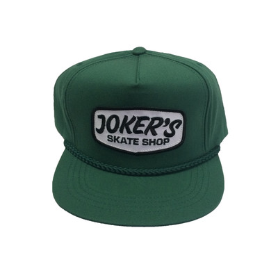 Jokers Classic Logo Patch Rope Hat Hunter Green
