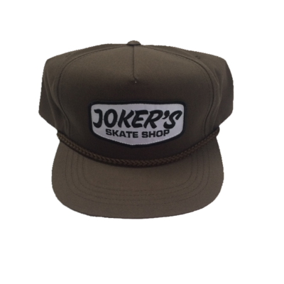 Jokers Classic Logo Patch Rope Hat Brown