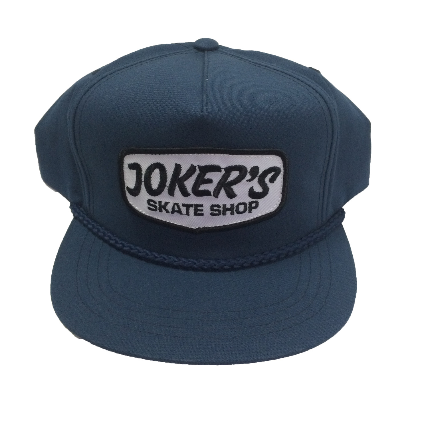 Jokers Classic Logo Patch Rope Hat Navy