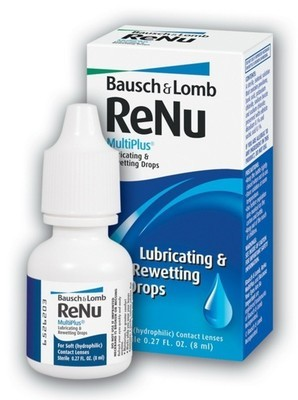 ReNu™ MultiPlus Lubricating & Rewetting Drops