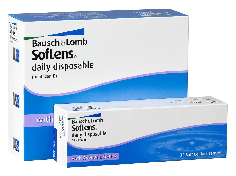 Baush+Lomb Soflens Daily Disposable