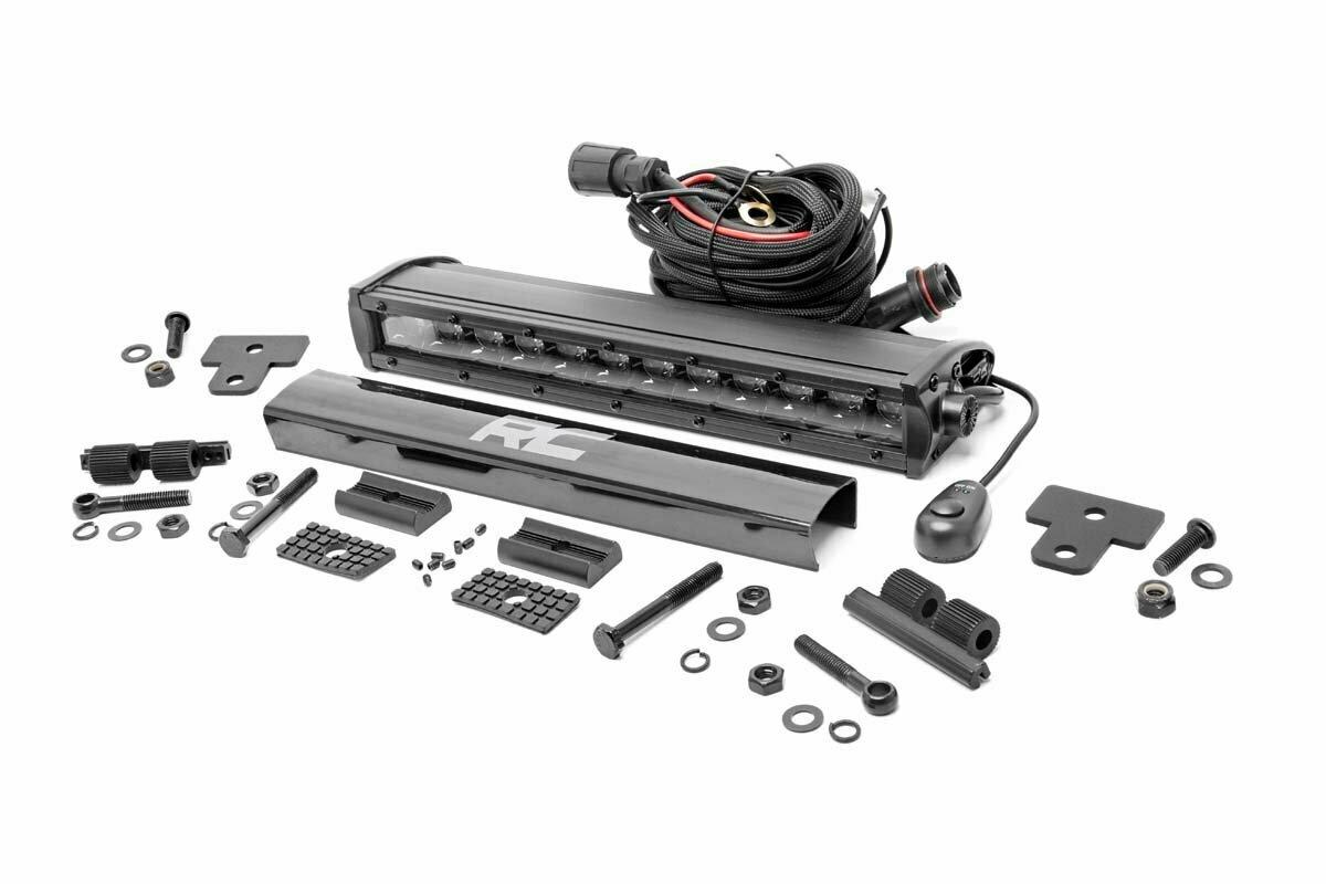 Can-Am Defender 12-Inch Recessed Bumper LED Kit | Black Series (16-20 Defender)