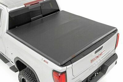 GM Soft Tri-Fold Bed Cover (19-20 1500 PU - 5' 8