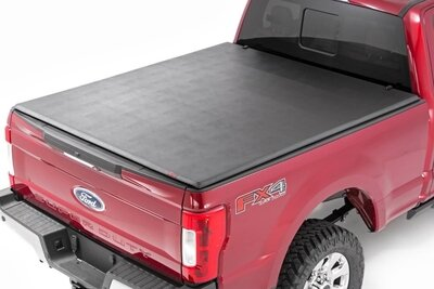 Ford Soft Tri-Fold Bed Cover (17-20 Super Duty - 6.5' Bed)