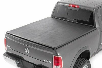 Dodge Soft Tri-Fold Bed Cover (02-08 Ram 1500, 2500 - 6' 5