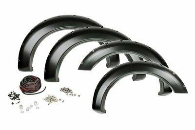 Ford Pocket Fender Flares   Rivets   Shadow Black (17-20 F-250/350)