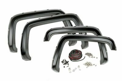 GMC Pocket Fender Flares | Rivets (15-19 Canyon - 5' Bed)