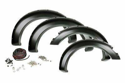 Dodge Pocket Fender Flares | Rivets (09-16 Ram 1500 w/Plastic Bumper)