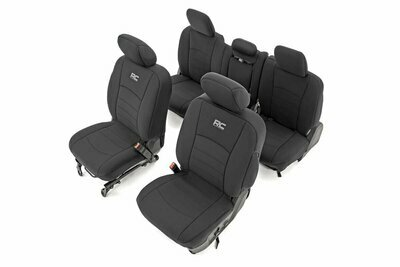 Dodge Neoprene Front & Rear Seat Covers (09-18 Ram 1500)