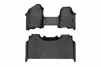 Heavy Duty Floor Mats [Front/Rear] - (19-20 Ram 1500 | Crew Cab | Half Console w/ Rear Under Seat Storage))