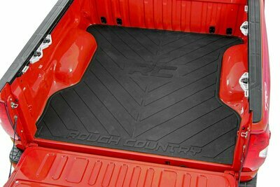 GM Bed Mat w/RC Logos (19-20 Silverado/Sierra 1500 8ft Bed)