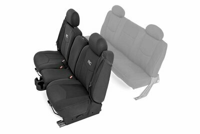 GM Neoprene Front Seat Cover | Black [99-06 1500]