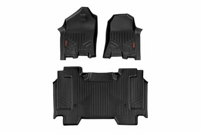 Heavy Duty Floor Mats [Front/Rear] - (19-20 Dodge Ram | Crew Cab | Full Console)