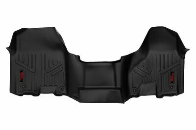 Heavy Duty Floor Mats [Front] - (12-18 Dodge Ram | Regular / Quad Cab | Half Console)