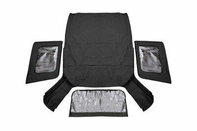 Jeep Replacement Soft Top | Black (07-09 JK Wrangler 2 Door)