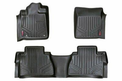 Heavy Duty Floor Mats [Front/Rear Double Cab] - (14-20 Toyota Tundra)