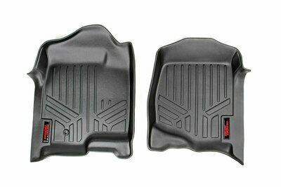 Heavy Duty Floor Mats [Front] - (07-13 Chevy Silverado / GMC Sierra)
