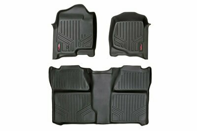 GM Heavy Duty Floor Mats [Front/Rear] - (07-13 Silverado / Sierra | 07-14 HD | Crew Cab | Bucket Seats)