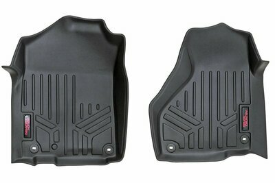 Heavy Duty Floor Mats [Front] - (12-18 Dodge Ram, Regular / Quad Cab)