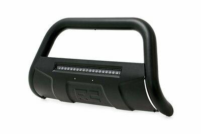 Toyota 07-20 Tundra Bull Bar w/LED Light Bar (Black)