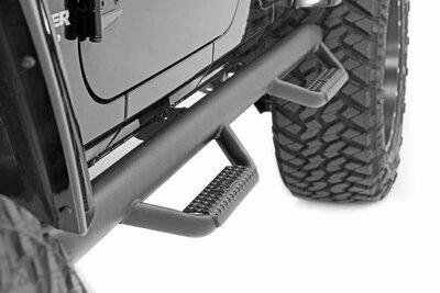 Jeep Wheel to Wheel Nerf Steps (07-18 Wrangler JK 4-Door)