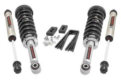 2in Ford Leveling Lift Kit | Lifted Struts & V2 Shocks (09-13 F-150)