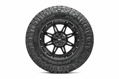 Nitto 295/60R20 Ridge Grappler w/ Rough Country Series 94  20x9 Combo (6x5.5 / 6x135)