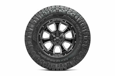 Nitto 295/60R20 Ridge Grappler w/ Rough Country Series 93 20x10 Combo (6x5.5 / 6x135)