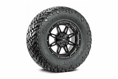 Fuel Gripper 35x12.50 M/T w/ Rough Country Series 94  20x10 Combo (8x6.5)