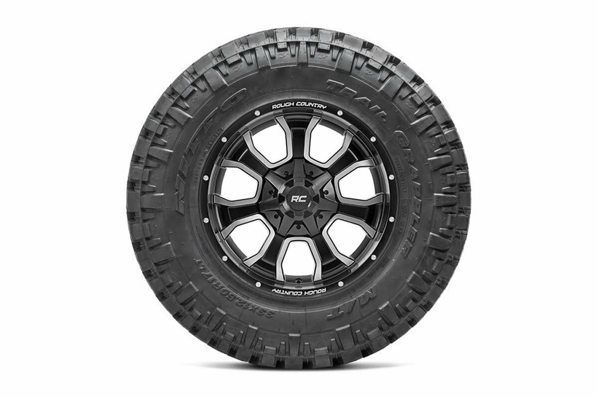 Nitto 35x12.50R20 Trail Grappler w/ Rough Country Series 93 20x9 Combo (6x5.5 / 6x135)