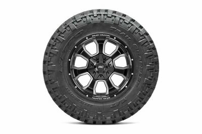 Nitto 35x12.50R20 Trail Grappler w/ Rough Country Series 93 20x10 Combo (6x5.5 / 6x135)