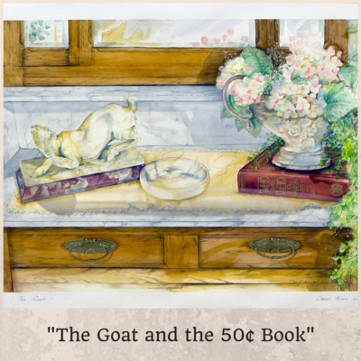 The Goat And The 50¢ Book