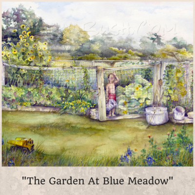 The Garden At Blue Meadow