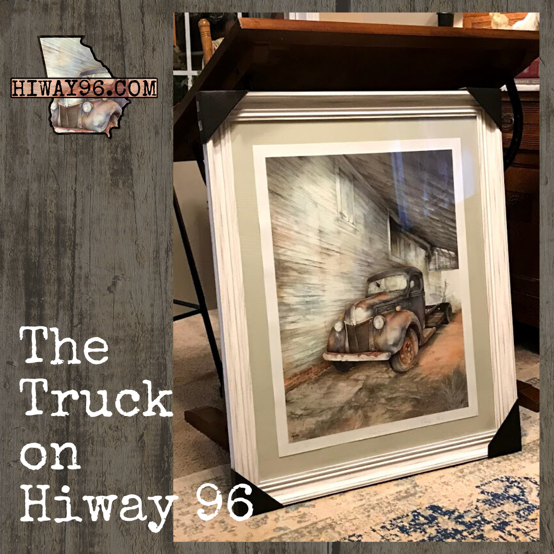 The Truck On HiWay 96 - Framed & Signed