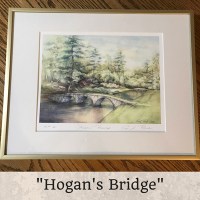 Hogan's Bridge Framed 8 x 10