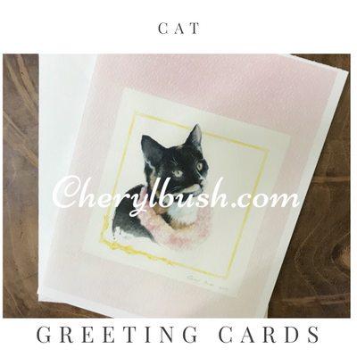Milo Greeting Card