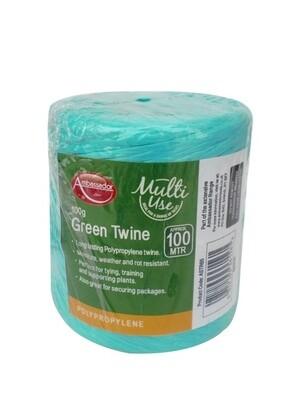 Green Poly Twine Spool 150gm/230m