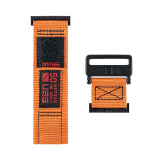 Bracelet Active pour montre Apple 44/42 mm, orange de UAG