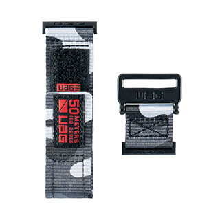 Bracelet Active pour montre Apple 44/42 mm, gris de UAG