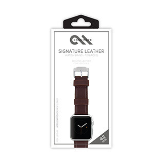 Bracelet en cuir exclusif pour montre Apple Watch de 42 mm, brun de Case-Mate