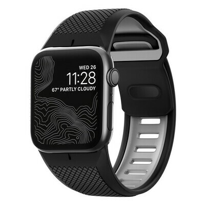 Bracelet Robuste Noir pour Apple Watch 42mm de Nomad