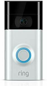 Sonnette avec caméra Video Doorbell 2 – nickel satiné/bronze vénitien 8VR1S7 de Ring