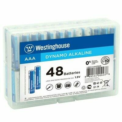 Batterie AAA Dynamo Alkaline 48mcx de Westinghouse