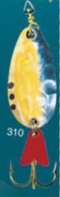 Cuillère à support en or 3/8 oz Leurre de pêche modèle 310 de Egb America